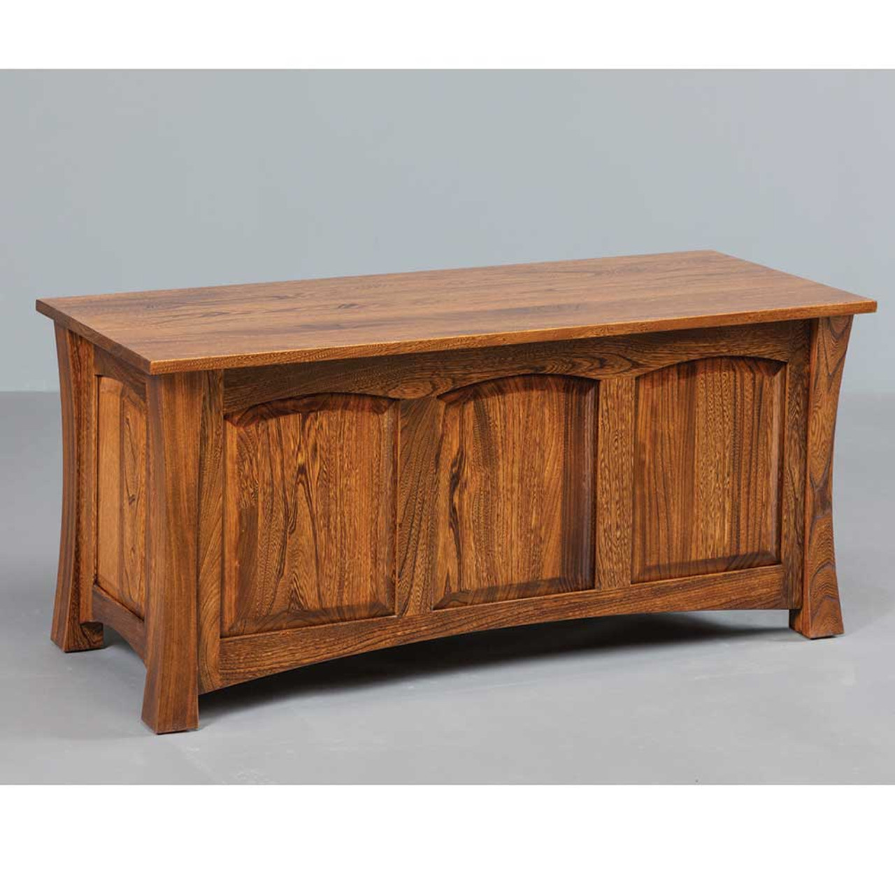 Hardwood Woodbury Blanket Chest | Cherry Valley Furniture