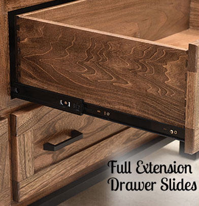 Full Extension Drawers Slides