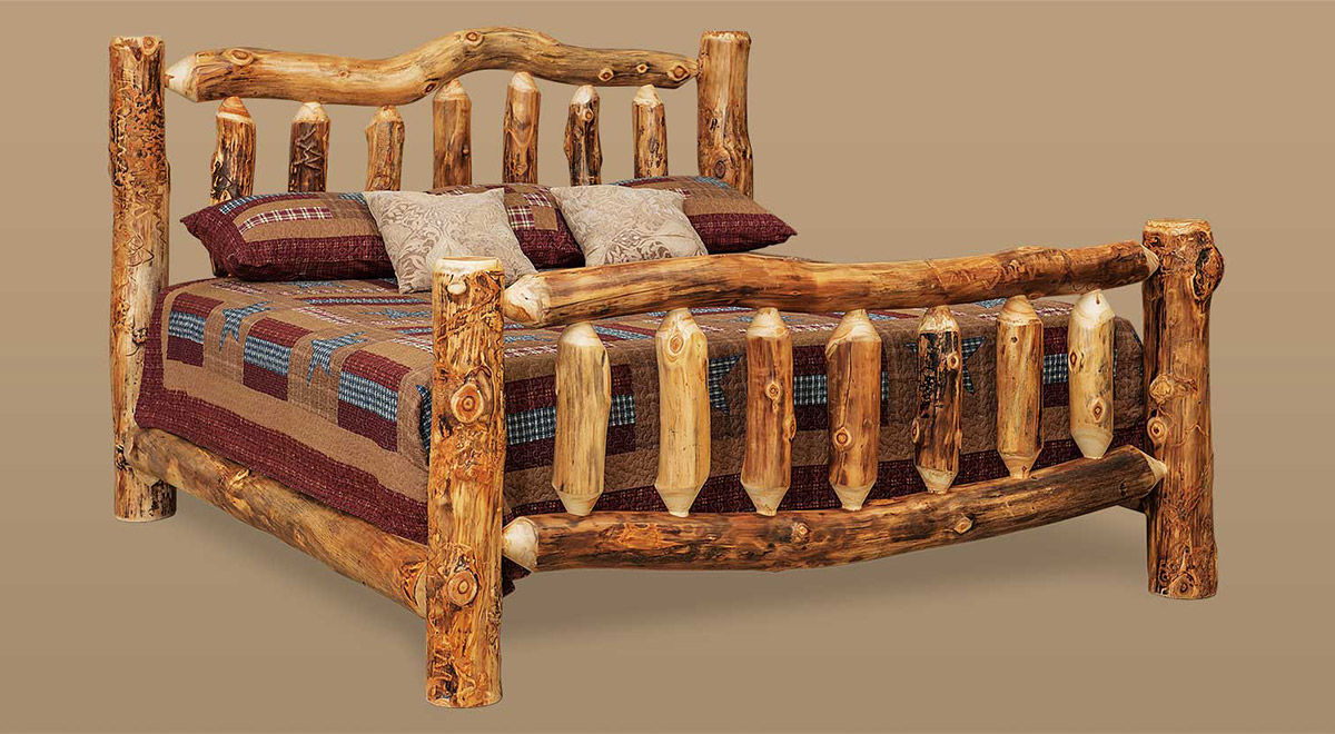 Handcrafted Rustic Log Furniture Cherry Valley Furniture