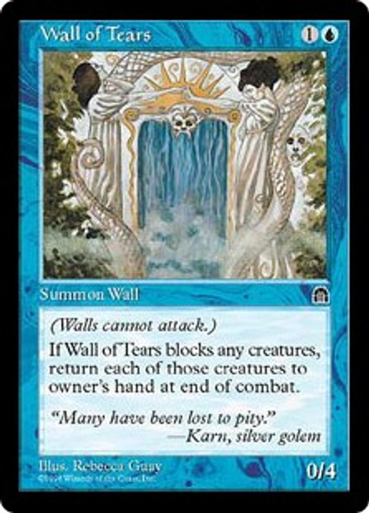 MTG  Stronghold  WALL OF TEARS