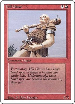 Hill Giant (Revised Edition)
