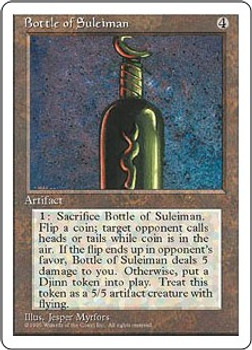 Bottle of Suleiman (Fourth Edition)
