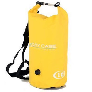 Yellow dry case, keeps your things dry
