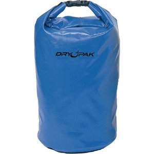 Blue dry case dry pak. Rolls up and keeps your things dry