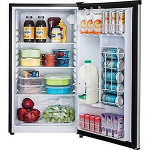 Frigidaire - 3.3 Cu. Ft. Mini Fridge - Stainless Steel