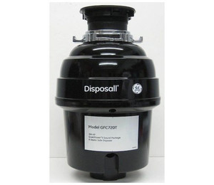 General Electric ® 3/4 HP Continuous Feed Garbage Disposer - Non-Corded