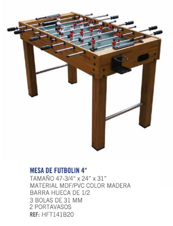Runic Foosball Table Specs