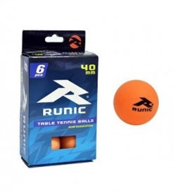 Additional 6 ping pong balls (orange)