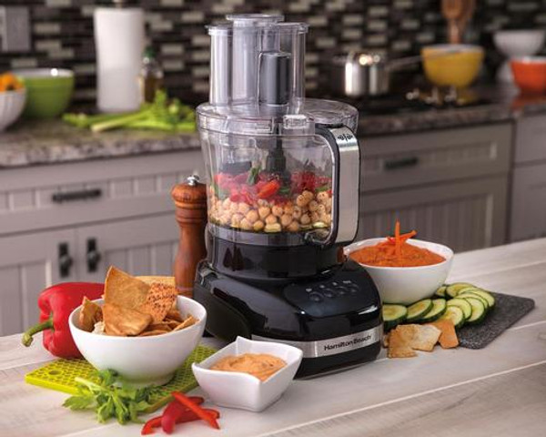 Hamilton Beach Big Mouth Duo Plus Food Processor