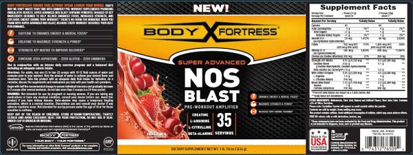 Body Fortress Nos Blast