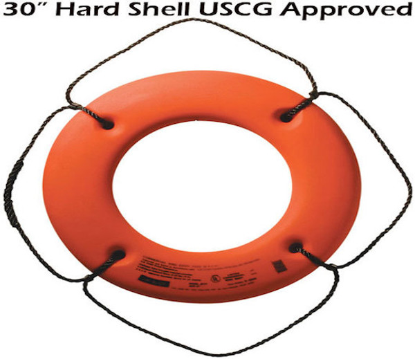 """The Hard Shell 30"""" Jim Buoy"""