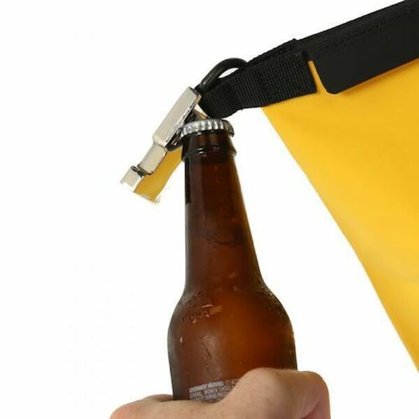 Deca yellow bottle opener