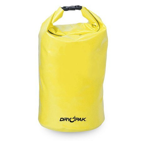 Yellow dry case dry pak. Rolls up and keeps your things dry.