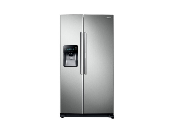 Samsung 25 Cu. Ft. (694 liters) Side-by-Side Refrigerator with Dispenser (RH25H5613SL/AP)