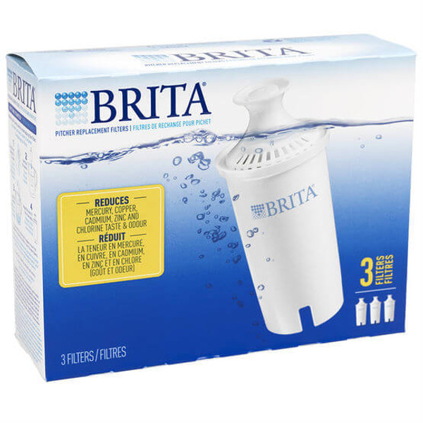Brita Pitcher Replacement Filters 3-Pack