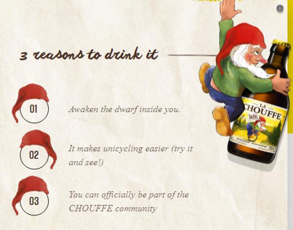 Why buy La Chouffe