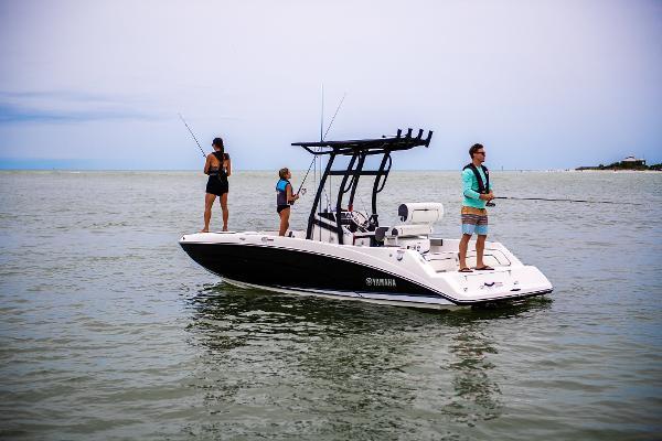 Yamaha 212 FSH Jet Boat