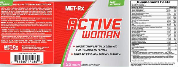 MET-Rx Active Woman