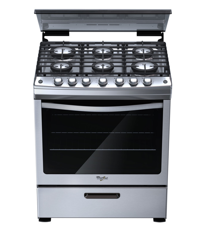 "Whirlpool Gas Stove (30"")"