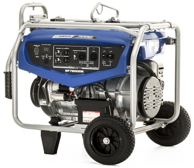 Yamaha Power Generator EF7200DE