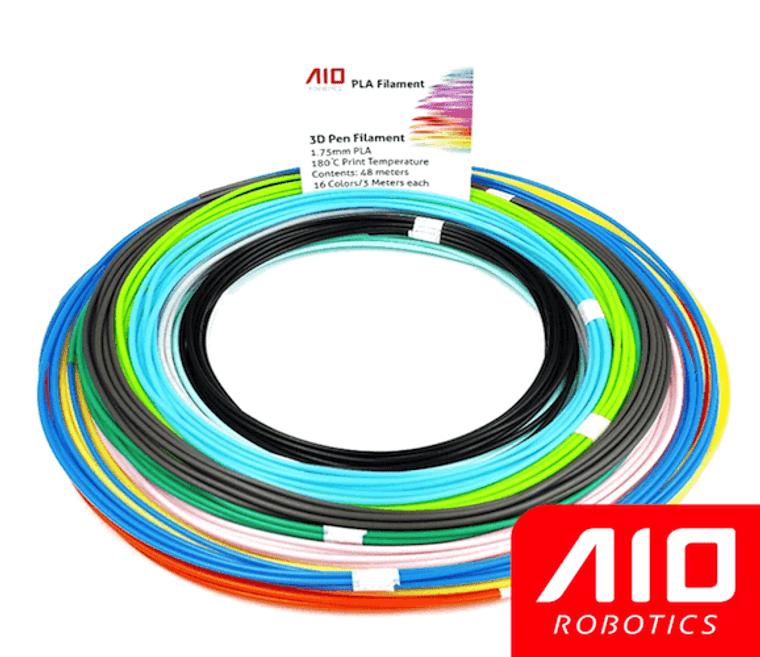 AIO Robotics Sample PLA 3D Pen/Printer Filament