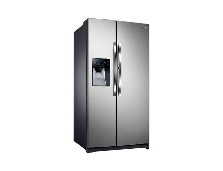 Samsung 25 Cu. Ft. (694 liters) Side-by-Side Refrigerator with Dispenser (RH25H5613SL/AP)