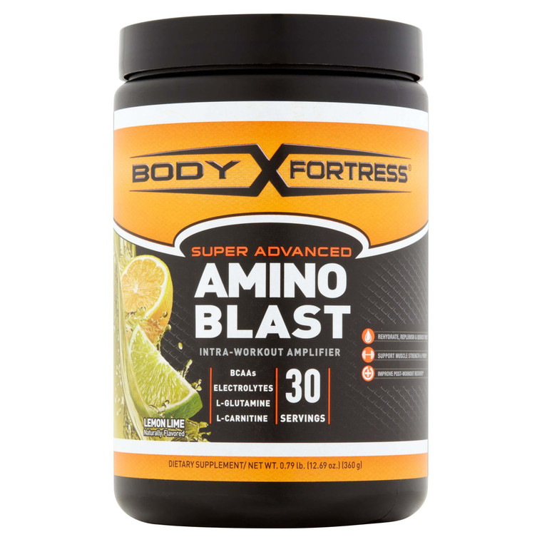 Body Fortress Amino Blast in Lemon Lime
