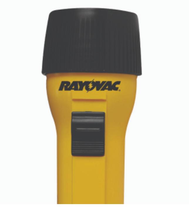 Rayovac Rechargeable led flashlight