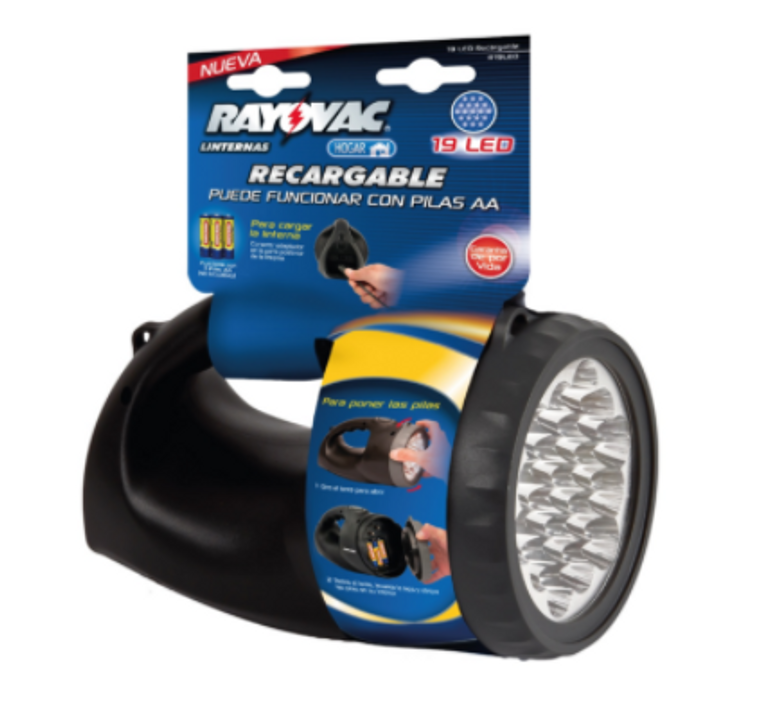 Rayovac Rechargeable and battery-operated lantern