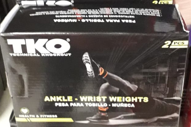 TKO Wrist Weights and Ankle Weights