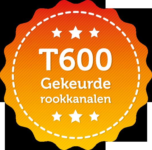 T600 Gekeurde rookkanalen