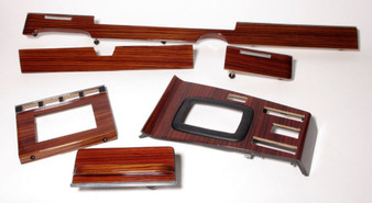 Complete Wood Trim Set Restoration Service W116