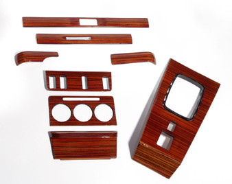 Complete Wood Trim Set Restoration Service W123
