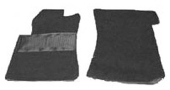 Front Carpet Kit, Velour New C107 R107 W123 W124 R129 W201