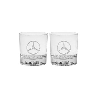 Mercedes-Benz Rocks Glasses, Set Of 2