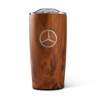 Mercedes-Benz Wood Grain Tumbler, 20 oz