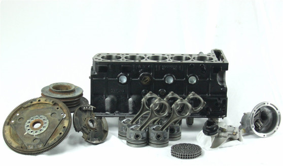 M116.965 Gas Engine Rebuilt W126