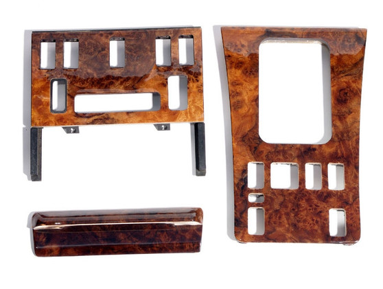 Complete Wood Trim Set Restoration Service W126