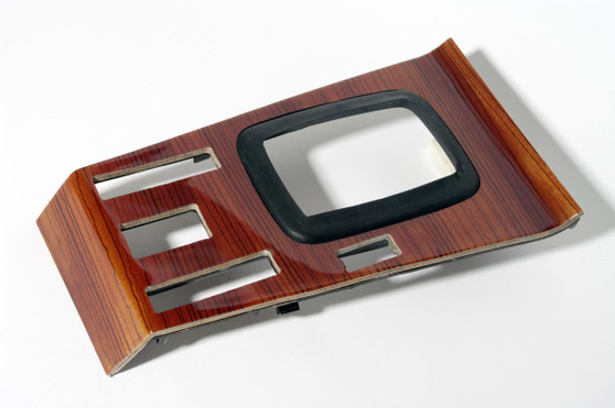 Shifter Surround Wood Trim RESTORED Zebrano W116