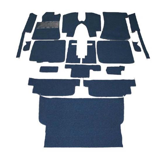 Complete Carpet Kit, Velour New C107 R107 W123 W124 R129 W201