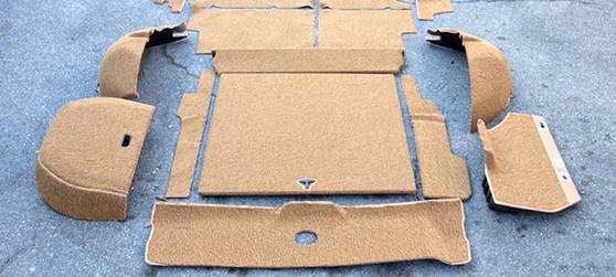Cargo Area Carpet Kit, Velour New W123 Wagon