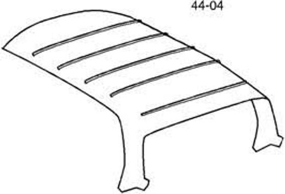 Headliner, Perforated Vinyl New C107 R107 W108 W109 W113 W114 W115 W116 W123 W124 R129 W201
