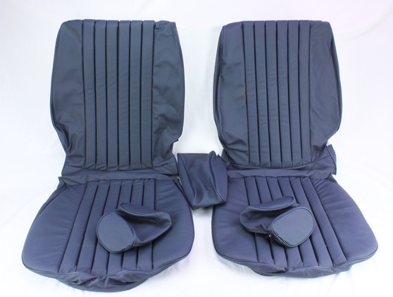 Front Seat Cover Kit NEW Leather C107 R107 W108 W109 W113 W114 W115 W116 W123 W124 W126 R129 W201