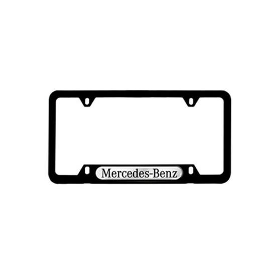 Mercedes-Benz Black License Plate Frame