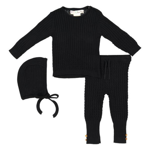 BABY Cable Knit 3 Piece Set