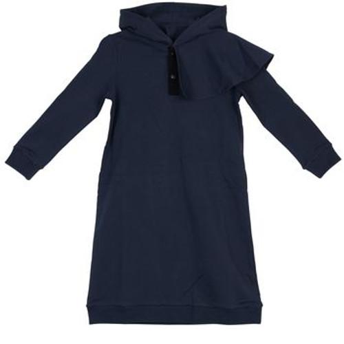 Sport Ruffle Sweatshirt Dress