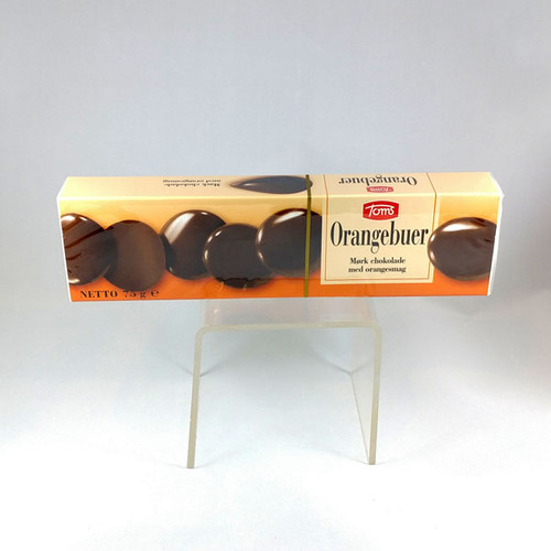 SALE Orange Chocolate (Orangebuer) 75 g from Toms