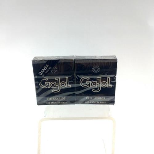 Gajol Black Licorice Pastillles 2 Packages