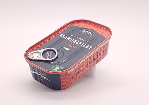 Danish Canned Mackerel in Tomato (Makrel i Tomat) - 125g (4.5oz)