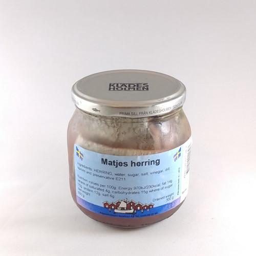 SALE - P.K. Matjes Tidbits Herring (Sild) - 560g (20oz)